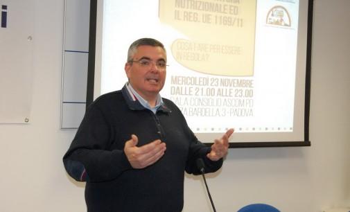 Fida Padova: seminario sull'etichettatura nutrizionale