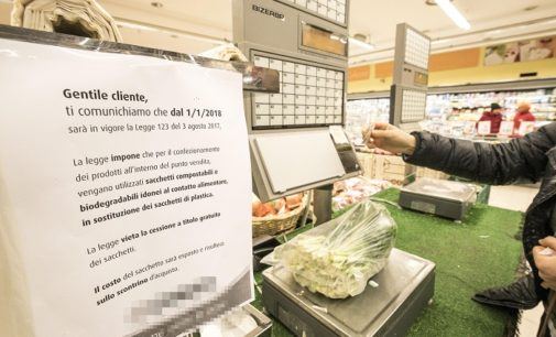 Sacchetti per alimenti: ora solo bio